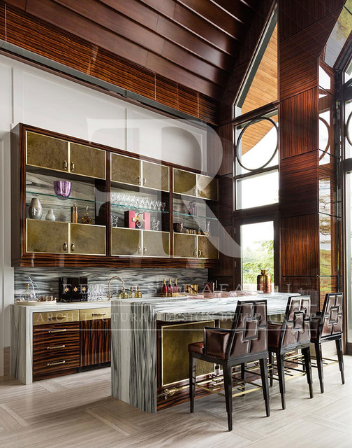 Ultra Luxe Lounge and Bar - Toronto - by Ferris Rafauli Architectural Design Build Group