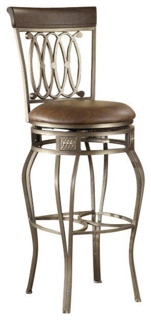 Hillsdale Montello Swivel 32 Inch Barstool Traditional
