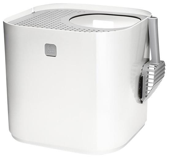 Modern Litter Box: Modkat Litter Box, White