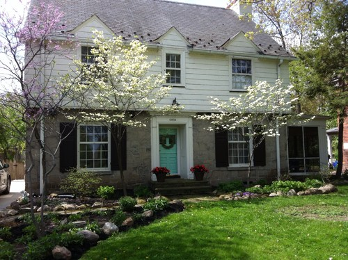 Exterior Color Help Garrison Colonial With Stone Facade