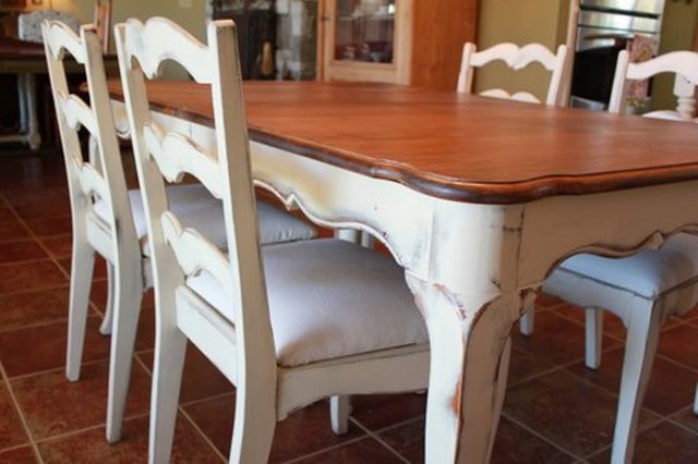 Vintage French Country Dining Dining Tables Austin By Nod To The Past