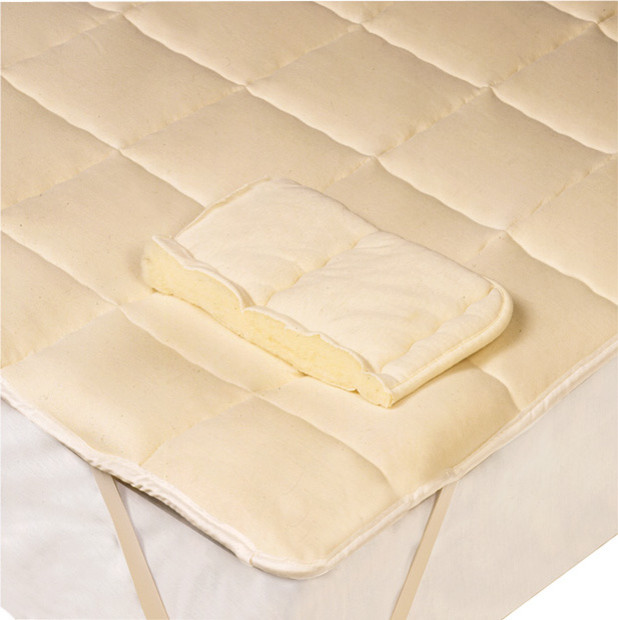 Downtown Wool Mattress Pad Traditional Mattress