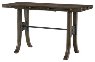 Hammary Hidden Treasures Flip Top Console Table