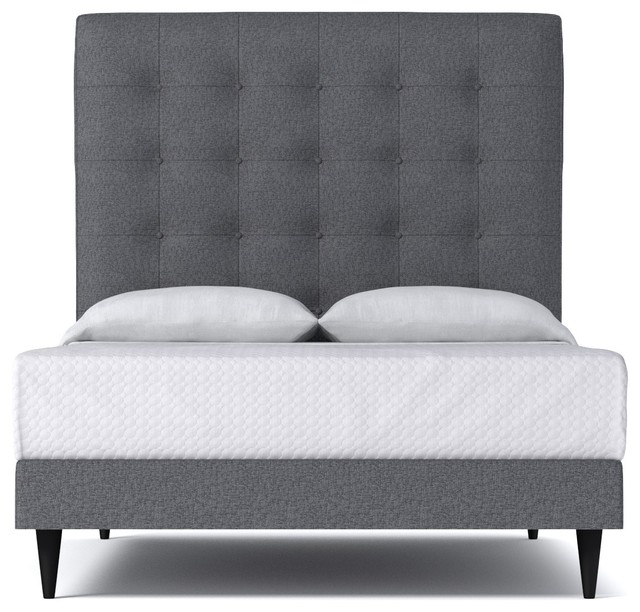 Palmer upholstered bed from kyle schuneman smoke for Divan upholstered bed
