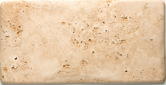 8x16 Travertine Old World Normandy Pillowed Field Tile