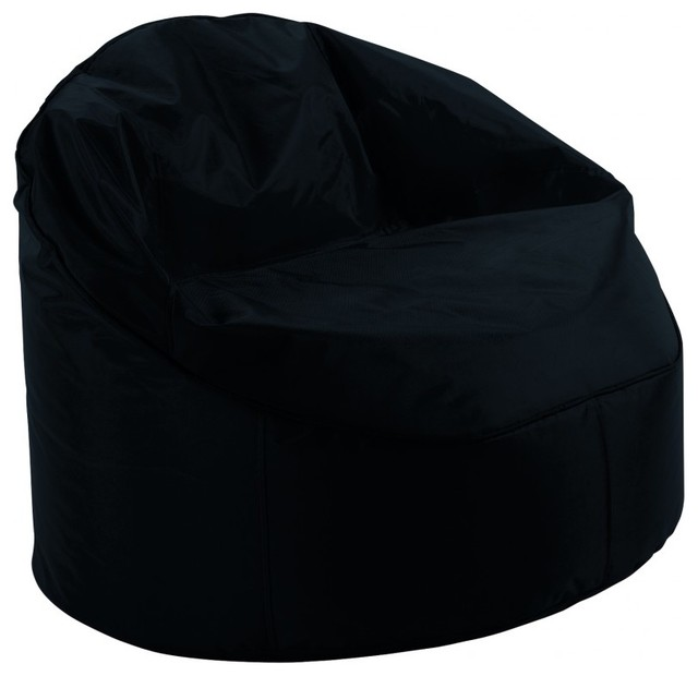 pouf billes palmchair couleur noir moderne repose pieds pouf et cube par. Black Bedroom Furniture Sets. Home Design Ideas