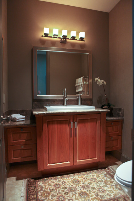 Powder bath Vanity Contemporary