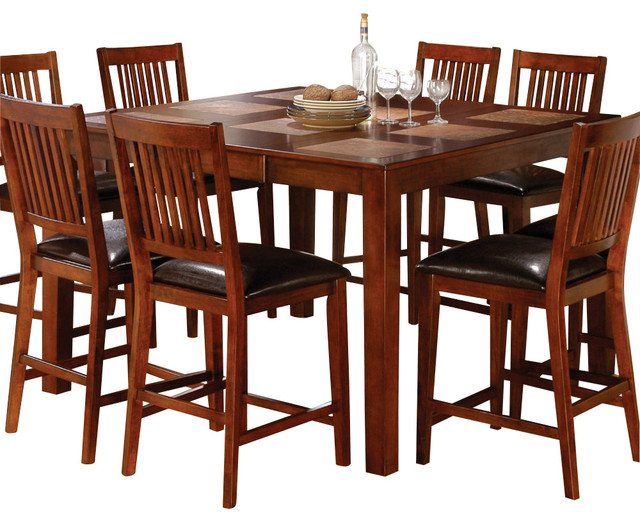 Steve Silver Messina Tile Top 54x36 Counter Height Table  : contemporary dining tables from www.houzz.com size 640 x 522 jpeg 108kB