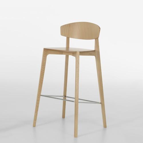 jane hamley wells ekay wooden stool modern bar