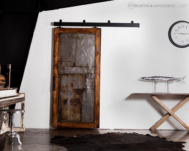 Steampunk Scrap Metal Door - Modern - Windows And Doors