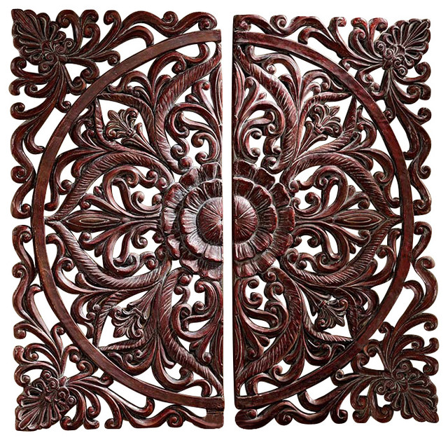carved rosette architectural wall sculpture traditional wall sculptures