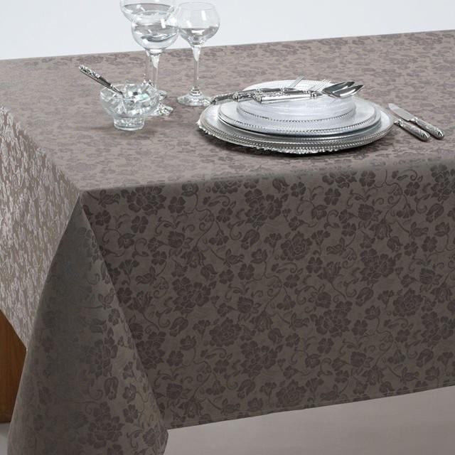 nappe cir e effet damass contemporain nappe par la redoute int rieurs. Black Bedroom Furniture Sets. Home Design Ideas