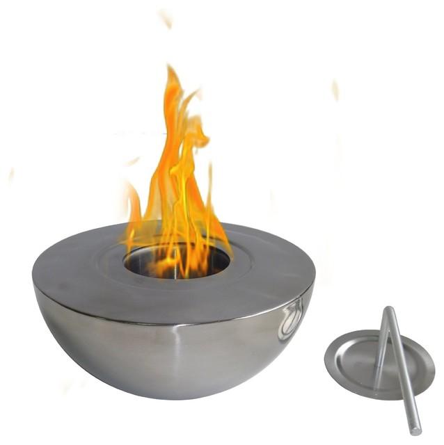 sutton indoor outdoor fireplace modern tabletop