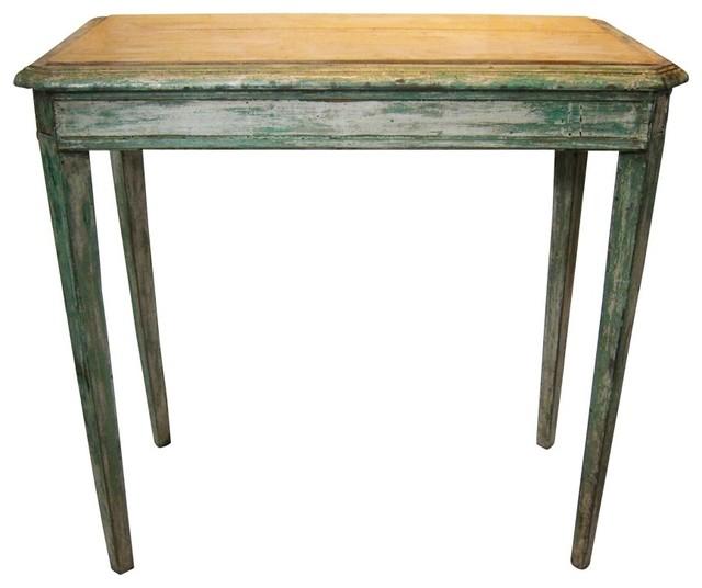 schmaler tisch um 1820 bauhaus look beistelltische von pamono. Black Bedroom Furniture Sets. Home Design Ideas