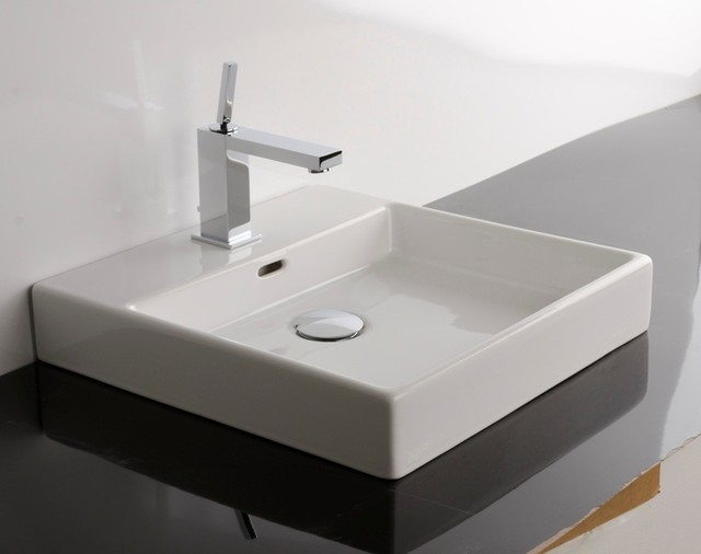 WS Bath Collections Plain 45A Counter Top Sink 17 7""