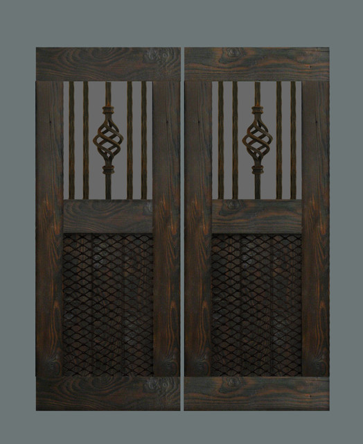 Custom swinging saloon doors for Custom closet doors los angeles