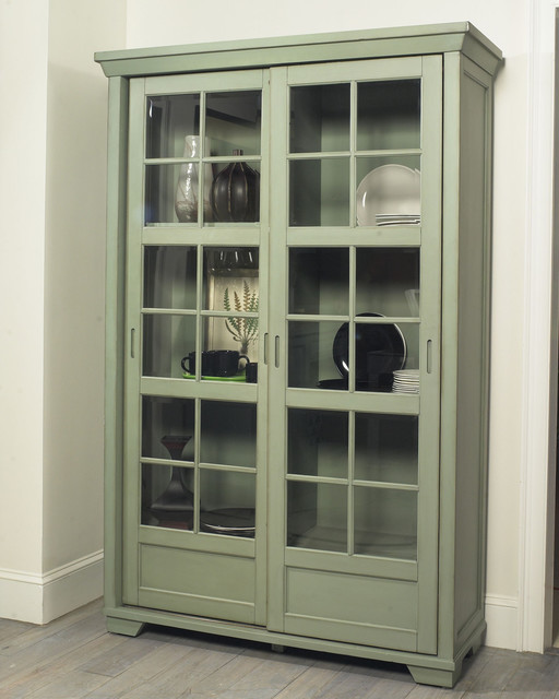 David Library Cabinet With Sliding Doors Eclectic Pantry Cabinets