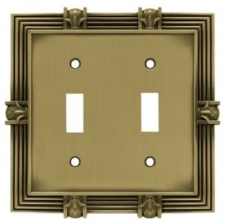 Liberty Hardware Pineapple Switch Plate - Modern - Switch Plates And Outlet Covers - by Knobs ...