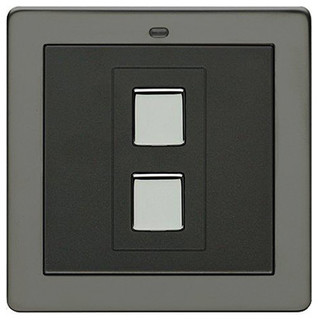 1 gang wire free light switch stainless steel - Modern switches and sockets ...