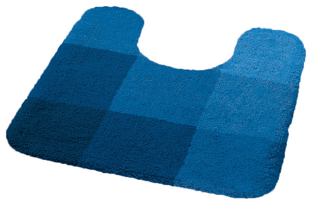 Royal blue bathroom rugs