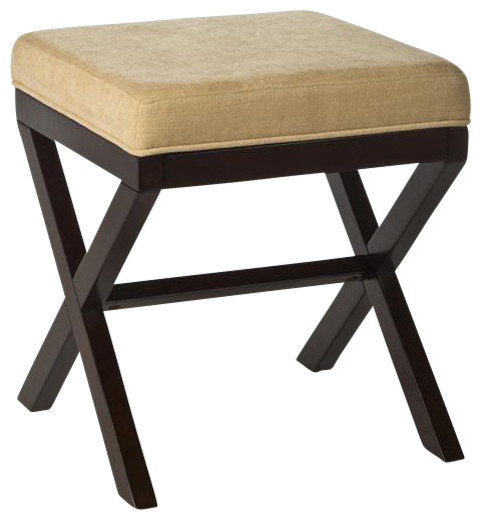 Bathroom Vanity Stool Or Bench Bailey Vanity Stool Traditional Vanity Stools And Benches By