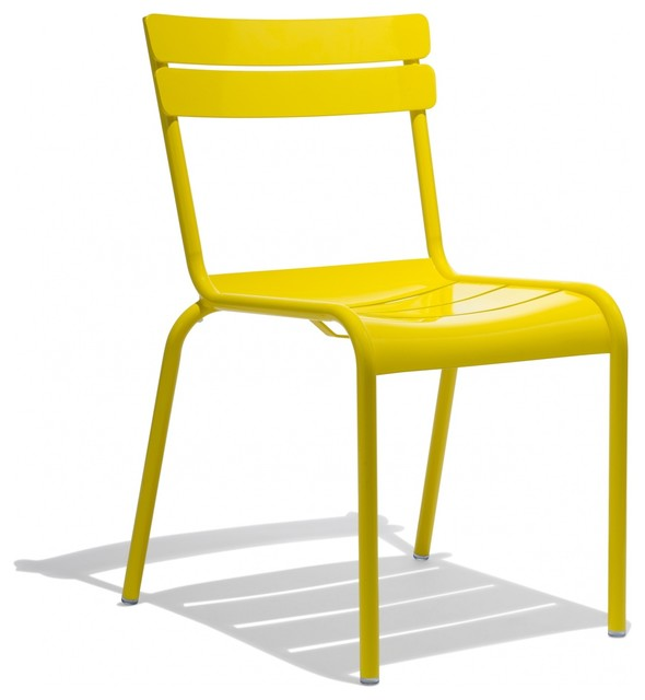 Verlaine Chair Yellow Contemporary Armchairs And