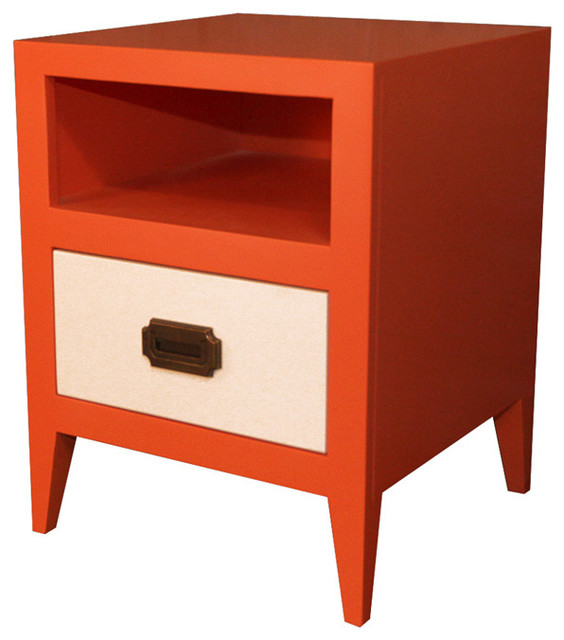 Devon Nightstand - Modern - Nightstands And Bedside Tables - by Rosenberry Rooms