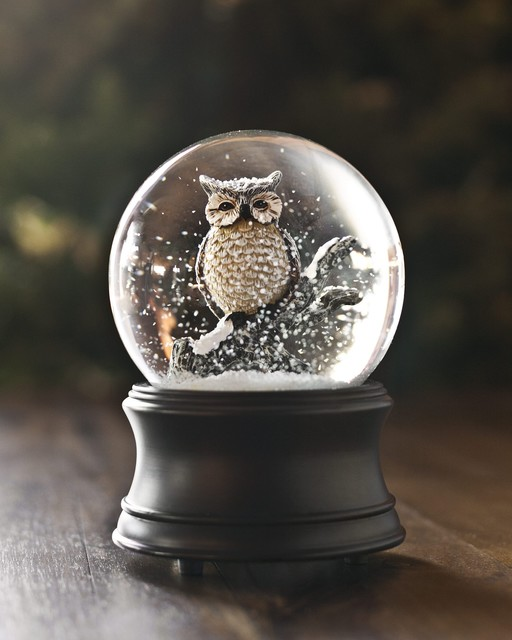 PRODUCTS : Snow Globes - Traditional - Holiday Accents And Figurines - san francisco - by Balsam ...