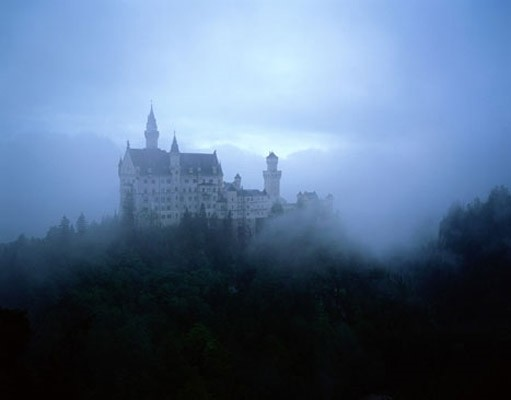 Neuschwanstein castle photo wall mural contemporary for Castle mural wallpaper