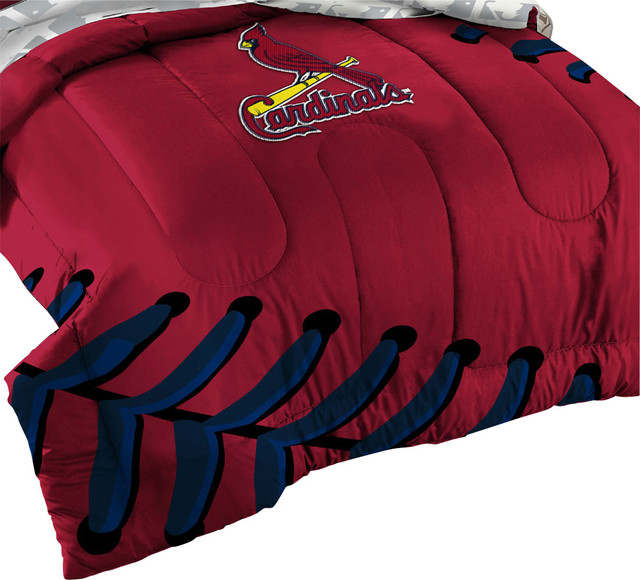 3 Piece Mlb St Louis Cardinals Baseball Twin Full