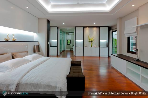 flexfire leds accent lighting bedroom modern ceiling