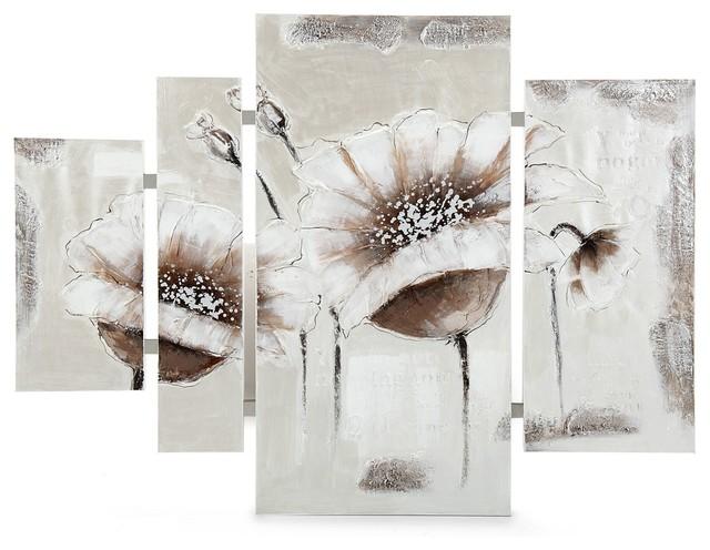 photo tableau fleurs alinea