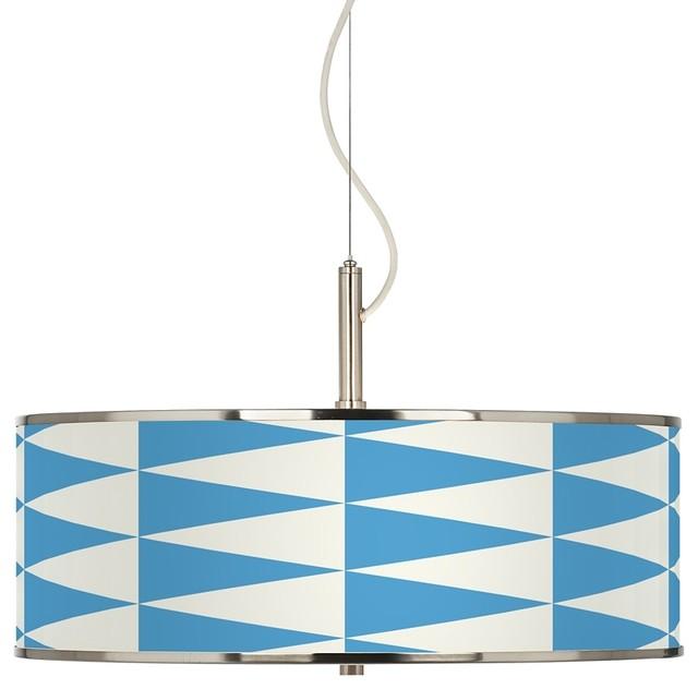 coastal pennant giclee glow 20 wide pendant light beach
