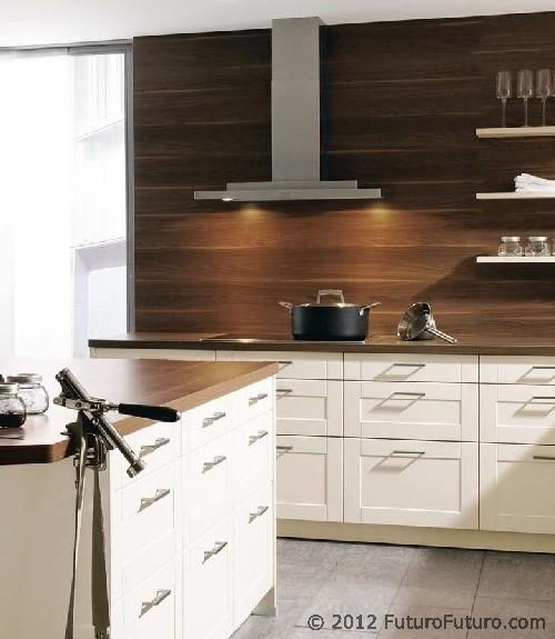 """Modern Kitchen Vent Hood: """"Mithos"""" Series"""