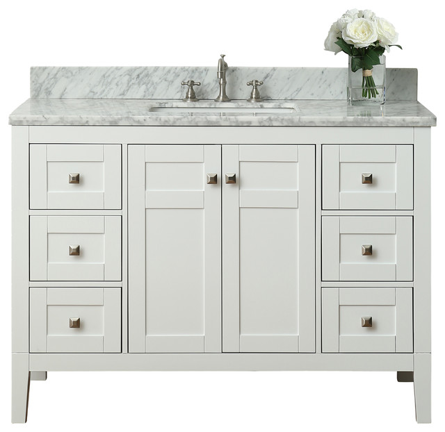 Brilliant Berkshire Bathroom Vanity 24quot  Transitional  Bathroom Vanities And