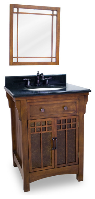 Prairie Style Vanity Set Craftsman Bathroom Vanities And Sink Consoles Other By