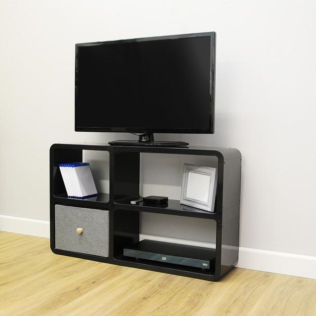 Modern Media Unit: Media Unit Style 7 - Modern - TV Stands & Units