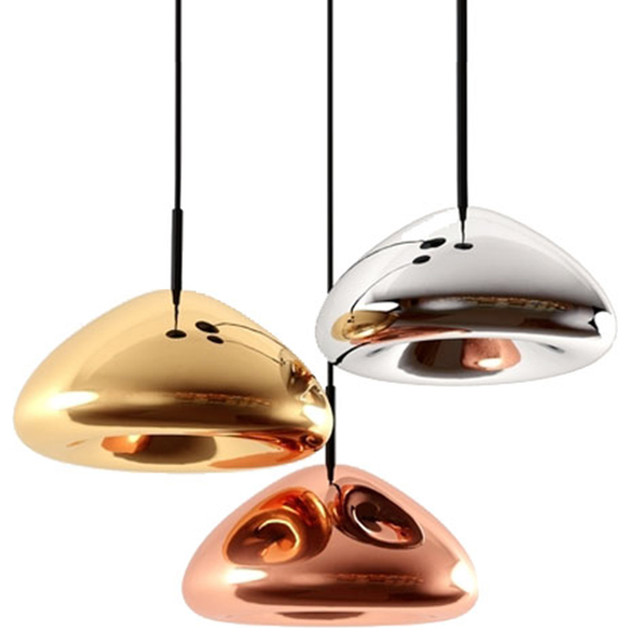Metallic Cell Shade Pendant Lighting