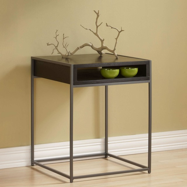 Wabash storage end table modern coffee tables new york by furniturenyc - Contemporary side tables with storage ...