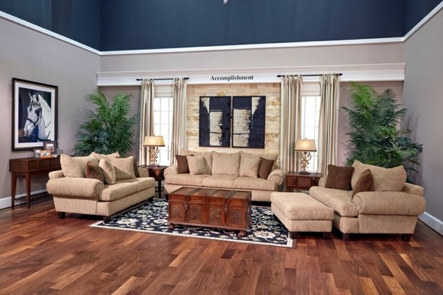 In Store Inspiration Traditional Living Room Houston