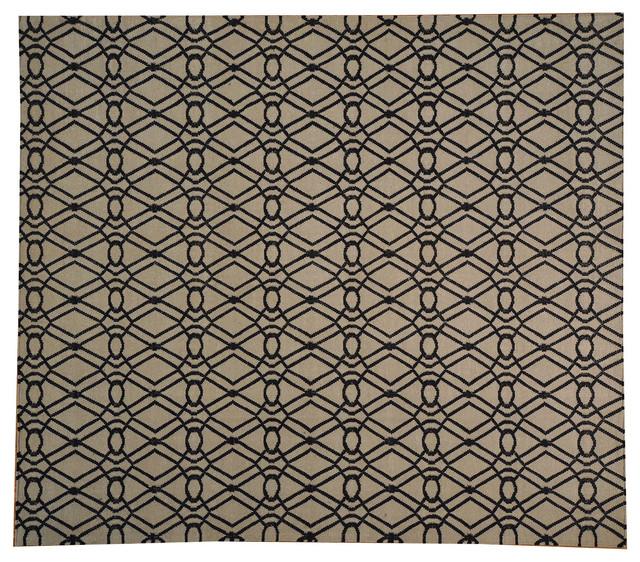 9 39 x10 39 geometric design hand woven 100 wool flat weave durie kilim rug sh18153 traditional - Ways decorating using kilim print ...
