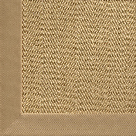 Chevron sisal with cotton border rug traditional rugs for Sisal decoration