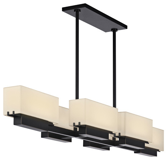 Sonneman 2466.51 Aspen 6-Light LED Bar Pendant