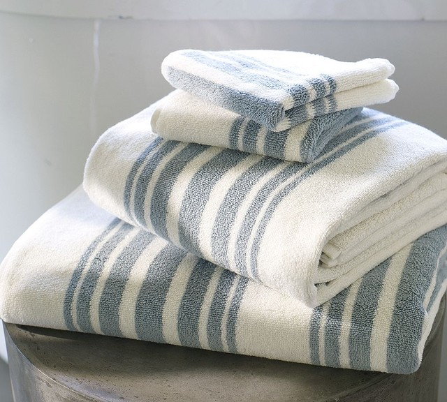 Organic bath towels contemporary bath towels by pottery barn