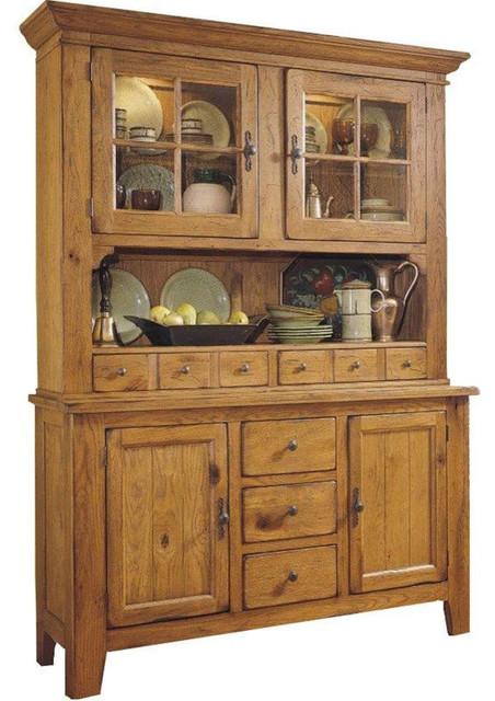 Broyhill Attic Heirlooms China Cabinet, Natural Oak ...