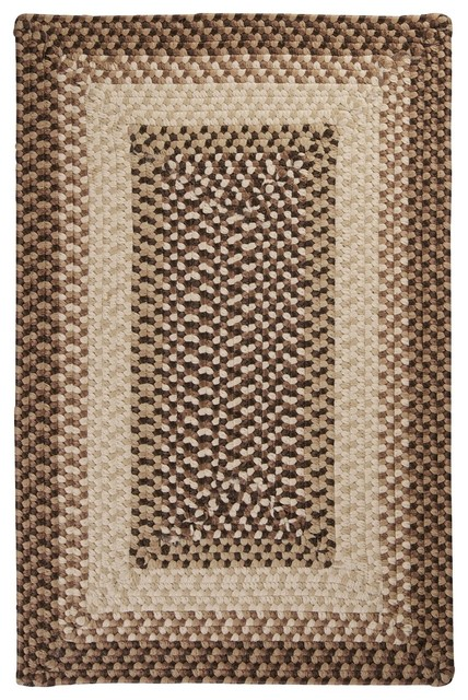 Colonial Mills Tiburon Brown 12x15 Traditional Outdoor Rugs By Home B