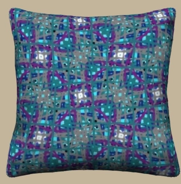 Unique Throw Pillows - Contemporary - new york - by Ann-dee s Doodles