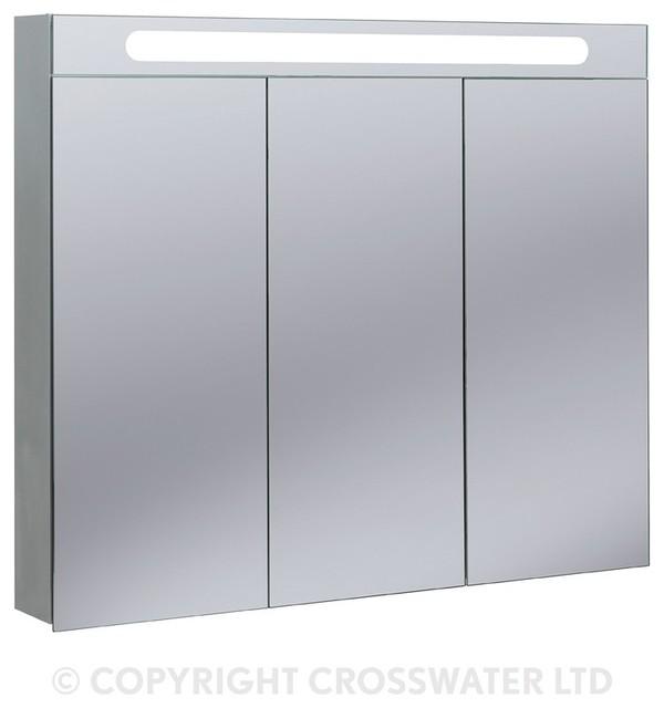 Bauhaus 950 Aluminium Electric 95 Mirror Cabinet ...
