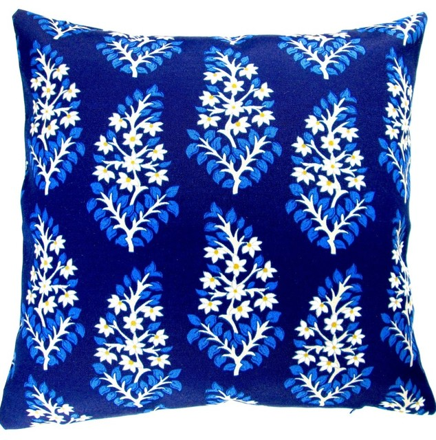 Modern Blue Outdoor Pillows : Artisan Pillows Outdoor 18