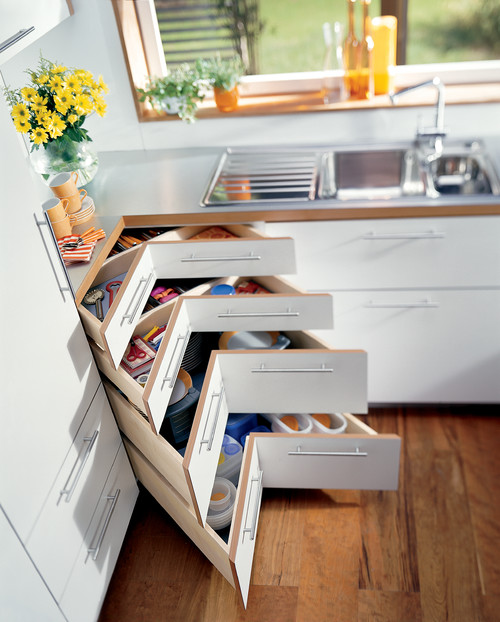 Blum Corner Drawers